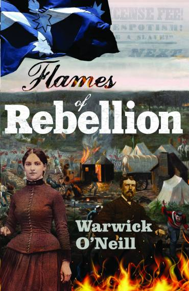 Flames of Rebellion BOOK LAUNCH!